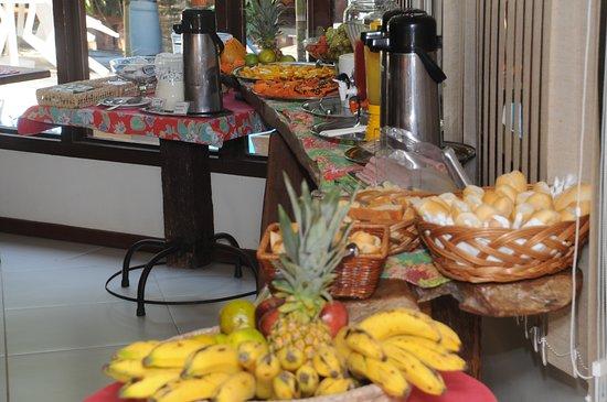 Pousada Alforria: café da manhã