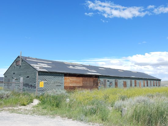 Powell, WY: One of the remaining buildings