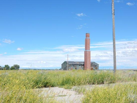 Heart Mountain Interpretive Center: Remains of a building