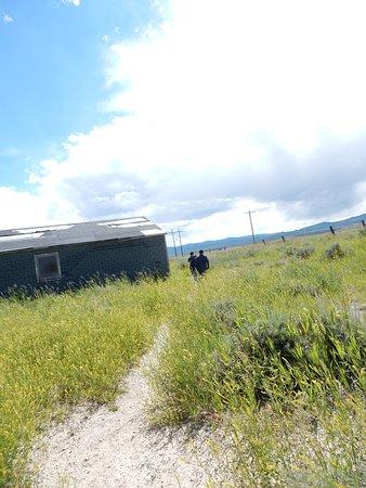 Heart Mountain Interpretive Center: Before we heard the rattlesnake