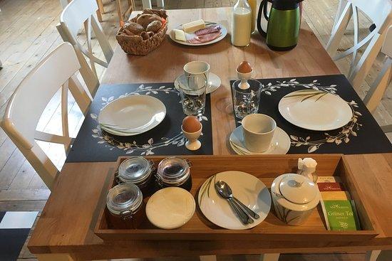 Flums, Suíça: Breakfast