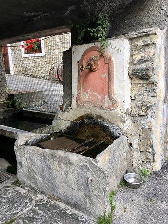 Osteria da Mari: la fontana