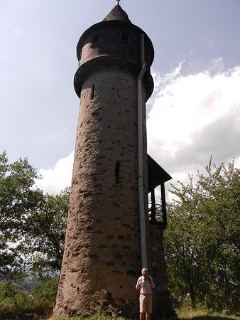 Wetzlar, Germany: Uitkijktoren op de Stoppelberg