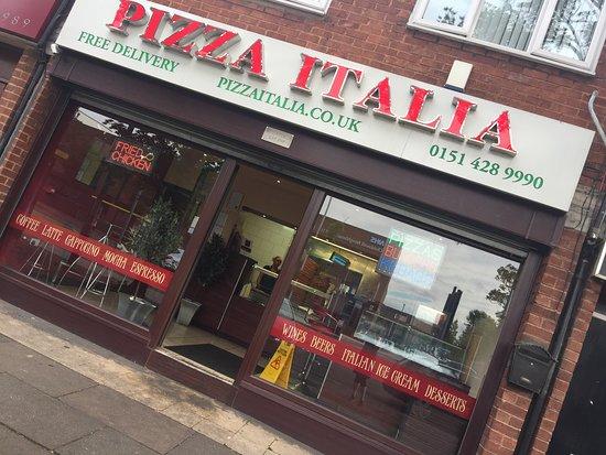 Pizza Italia Liverpool Restaurant Reviews Photos Phone