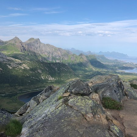 Glomtinden: Amazing place.. Relatively easy climb, too..