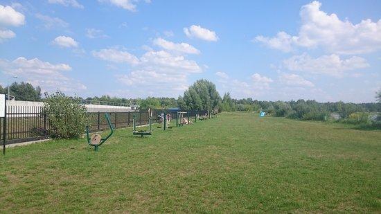 Izabelin, โปแลนด์: Upał - nawet tu nie było ćwiczących