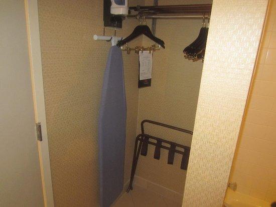 Linthicum Heights, MD: Closet in bathroom behind bathroom door