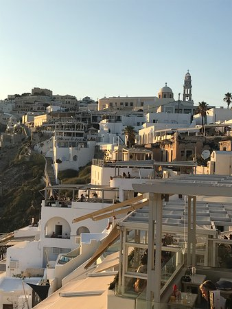 Santorini - Where Cable Cars Drop you off