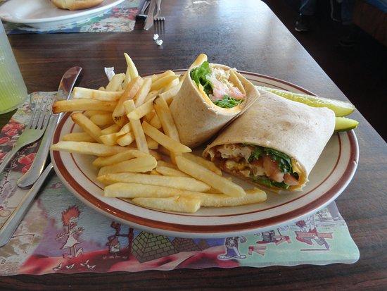 Νότιο Glens Falls, Νέα Υόρκη: yummy chicken wrap