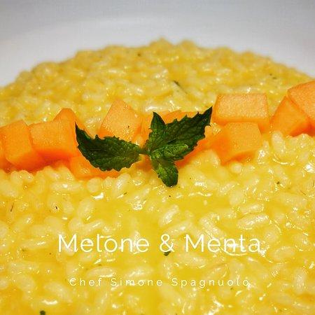 Villarasca, Italia: Risotto melone & menta