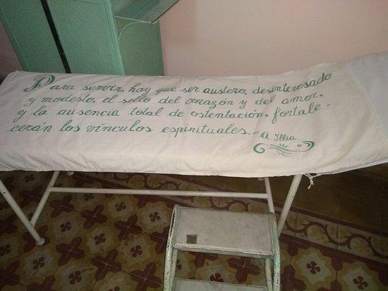 Cruz del Eje, Argentina: Camilla