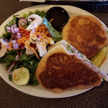 Acton, ME: Duck with Smoked Gouda and Salad
