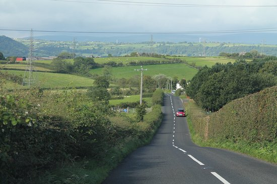 Islandmagee, UK: Country roads
