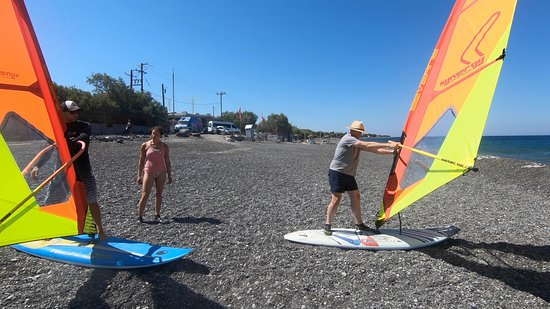 sup snorkeling - Picture of Nemely Windsurf & Sup Center, Kamari