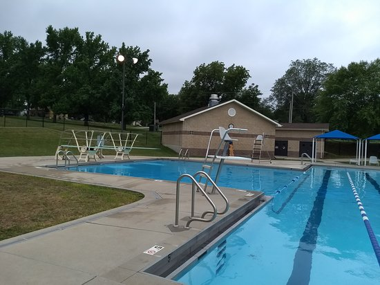 Leavenworth, KS: Wollman Pool slides