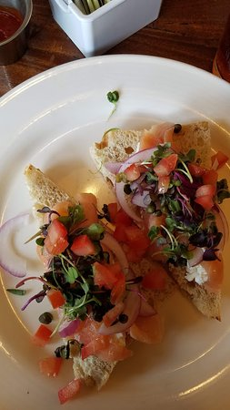 Litchfield Park, AZ: Smoked salmon breakfast dish