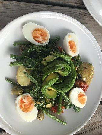 Bishopthorpe, UK: My yummy salad