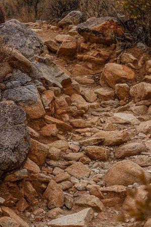 Waddell, AZ: It gets a bit rocky at times