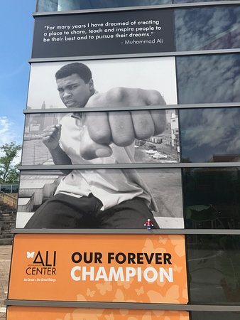 Muhammad Ali Center: the greatest