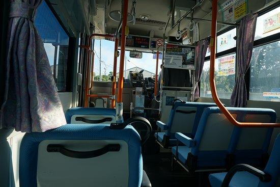 Iki, Nhật Bản: バス車内
