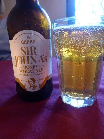 Perth-Andover, Kanada: Local beer