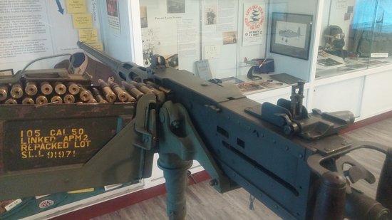 Douglas, GA: .50 Cal M2 heavy machine gun