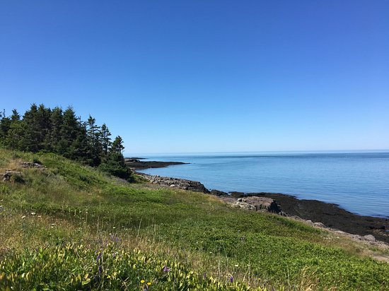 GAEL Tours: beautiful view of Bay of Fundy