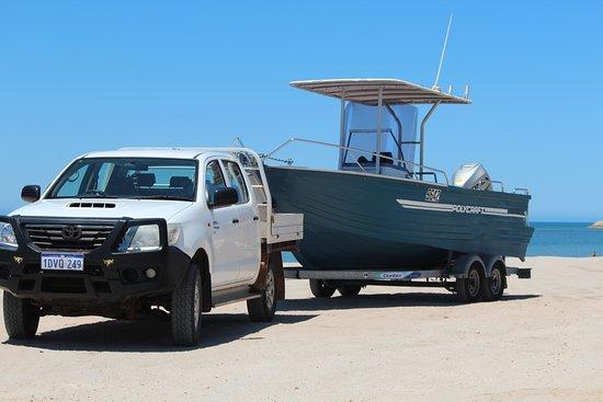 Exmouth, Australie : 6m Polycraft