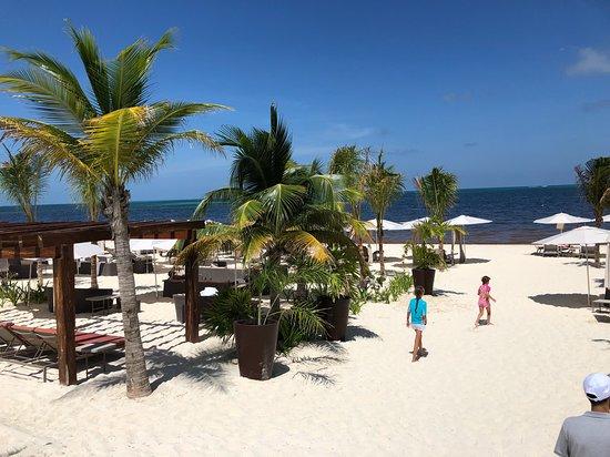 Beach at Beach club