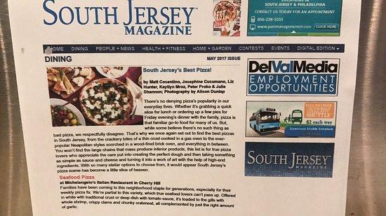 Michaelangelos Italian Restaurant Best Seafood Pizza In South Jersey