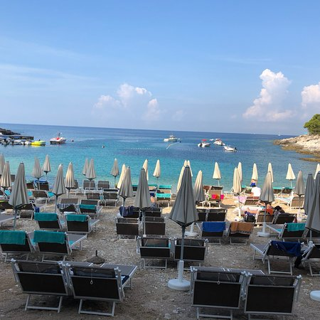 Wellness Hotel  Aurora: Strand / Bucht bei Hotel Aurora - sehr schön