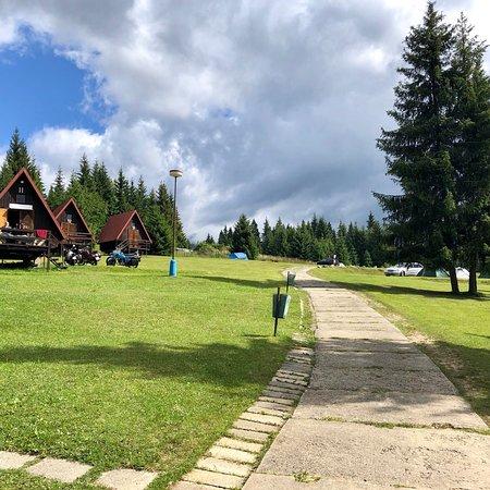Tatranska Strba, Slovakia: Simple but nice green camping side