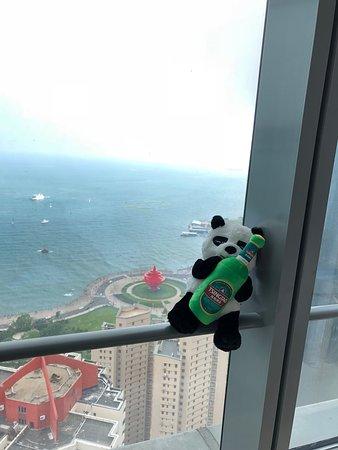 Grand Madison Qingdao Harbour-View Central: 스위트 씨뷰 룸의 5.4 방향 뷰