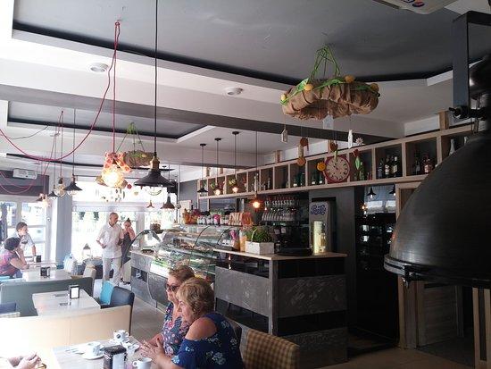 Bochnia, Polen: Cafeteria Chantilly