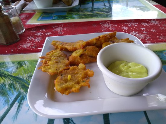 La Petit Peak: Appetizers: fried vegetables