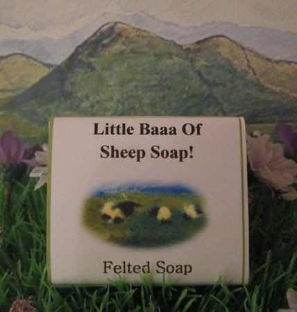 Kenmare Soap Shop: Our handmade felted soap makes a unique gift to evoke memories of Ireland