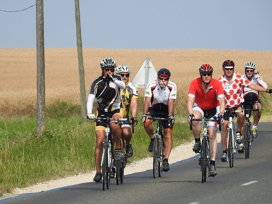 West-Vlaanderen, België: Riding the routes of Picardie (Fr)