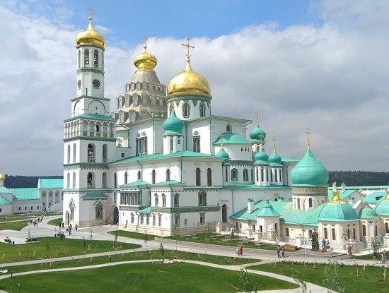 Резултат с изображение за новоиерусалимский монастырь
