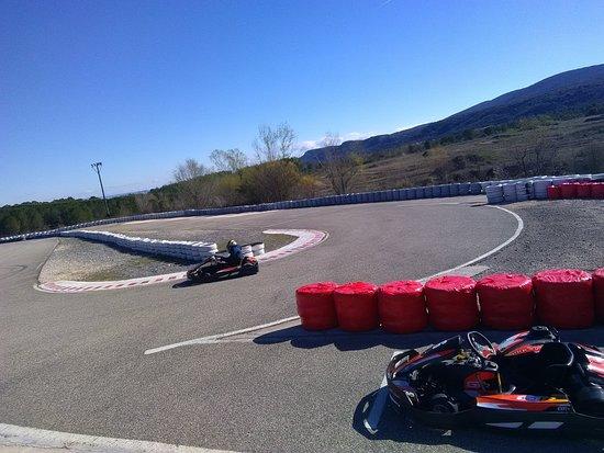 Grospierres, France : karting sodikart GTR5