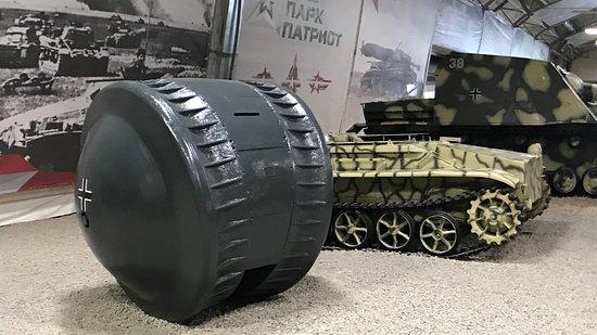 Kubinka, Russia: German Kugelpanzer, Patriot Park