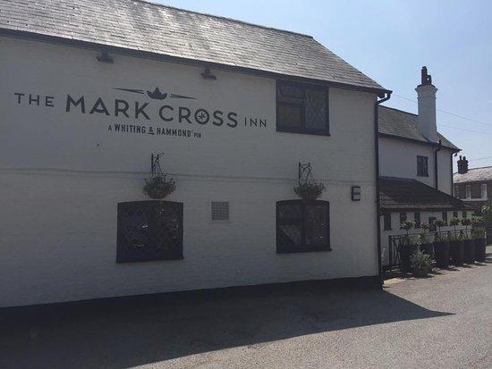 The Mark Cross Inn Side View
