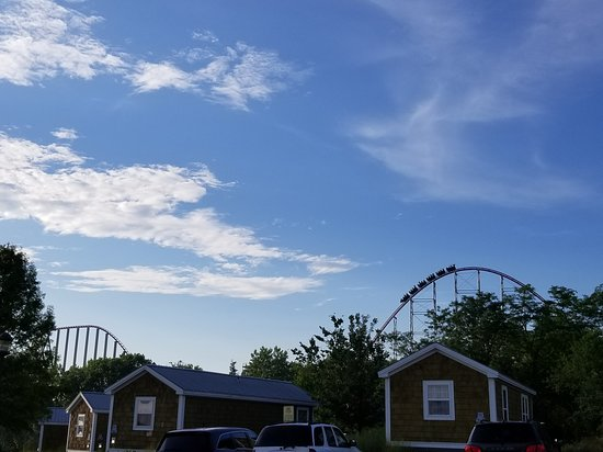 Worlds of Fun Village: The Mambad coaster from our site