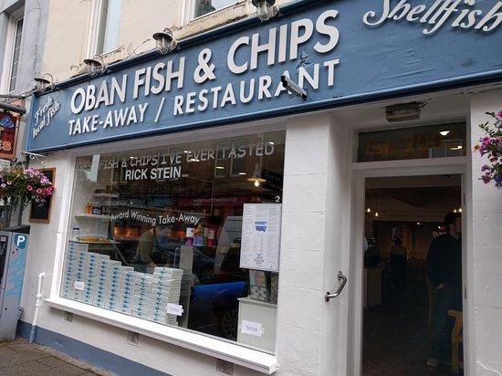 Bilde fra Oban Fish and Chip Shop
