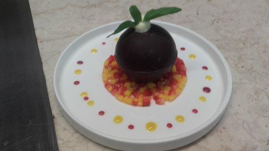 Montfort-sur-Meu, Francia: Coque chocolat passion
