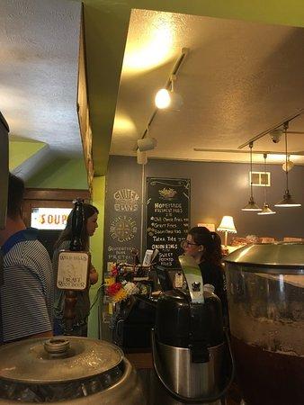 Slabtown Cafe and Burgers: Menu... gravy fries?