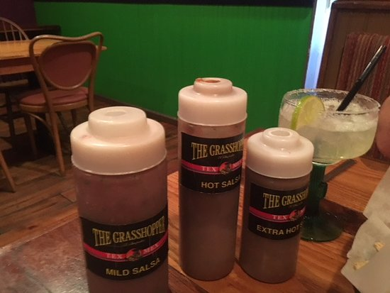 The Grasshopper Mexican Restaurant & Bar: sauses to try