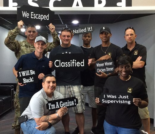 College Station, TX: Thanks for your service and for escaping Classified!