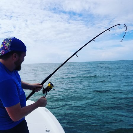 Fighting big fish in open water is whats it's all about