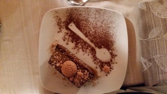 Sala Monferrato, Ιταλία: questo è il dolce tipico che ho mangiato , si chiama bonnet