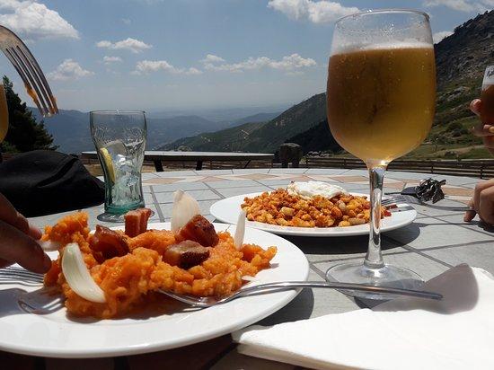 Villarejo del Valle, إسبانيا: menudas vistas